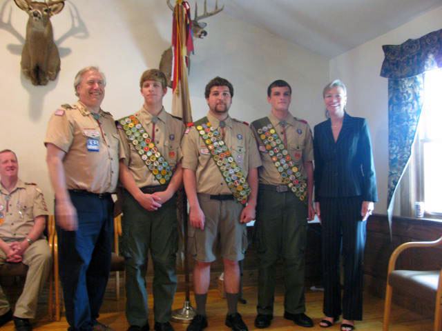 Carver Eagle Scouts
